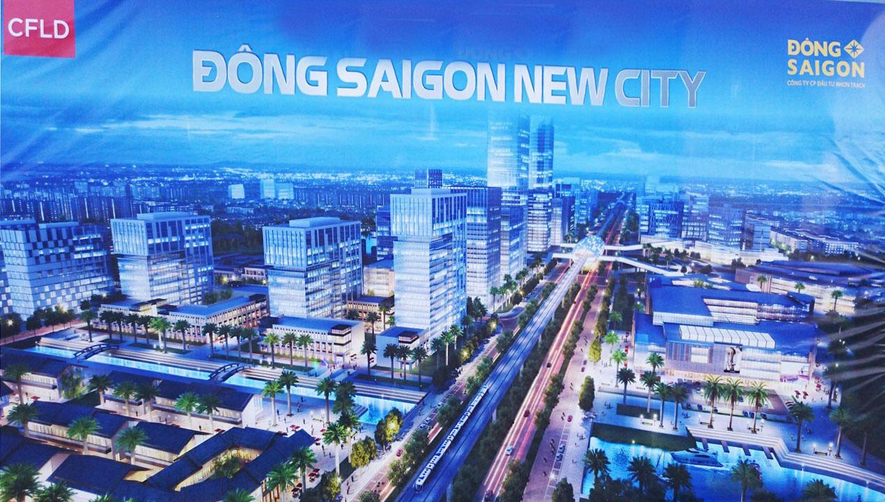 Phối cảnh dự án Đông Sài Gòn New City